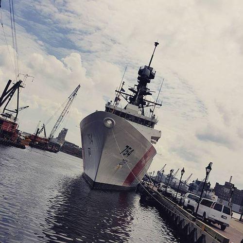 USCGC JAMES Awesome Loveit Uscgcjames Awesomecrew Lovethetime Baltimore Sealife InnerHarbor Wegotlucky