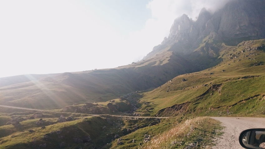 Mountains Roadtrip Caucasus Summer Sunlight Green Nature Natural Beauty Nature Photography The Photojournalist - 2017 EyeEm Awards
