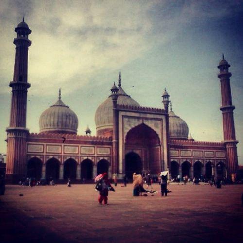 JamaMasjid Delhi Olddelhi DelhiHeritage Mughal Era Culture Religion Islam