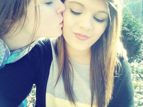 Bestfriends <3 #lips #love #smile #pink #cute #pretty #Swag #Ganja