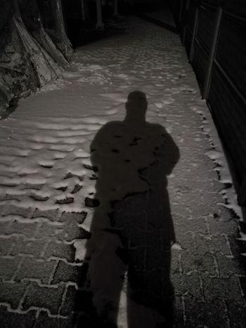 Men Shadow Spooky Silhouette Sand Horror Focus On Shadow Mystery