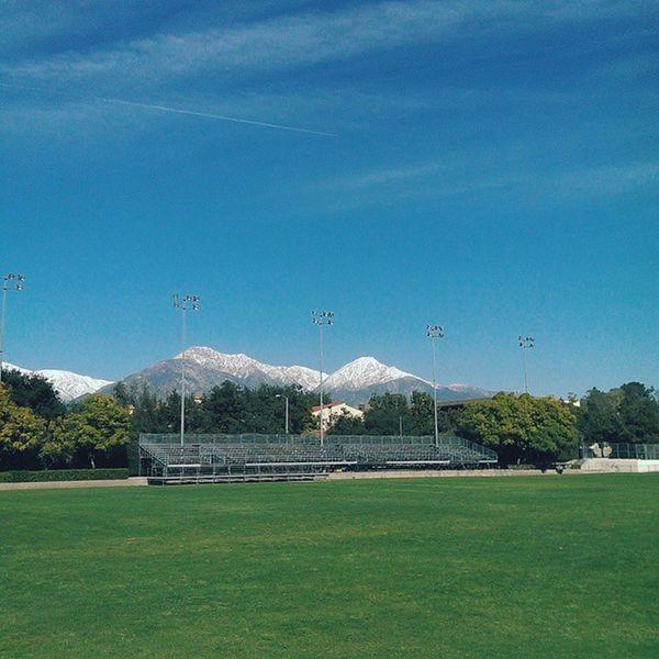 Mt Baldy SoCal Snow Landscape Vscocam