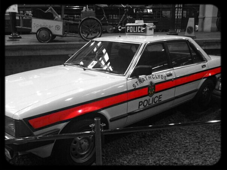 Transport Museum  Strathclyde Police Old School Ford