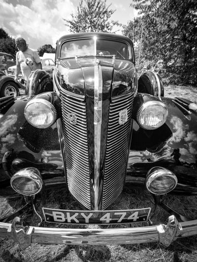 American Black And White Blood, Sweat And Gears Car Porn Car Show Chrome Classic Classic Car HotRod Hotrodcar Love For Cars Motor Outside Photography Wide Angle