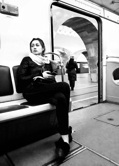 The Street Photographer - 2017 EyeEm Awards Black And White Black & White Streetphotography Streetphoto_bw Metro Underground