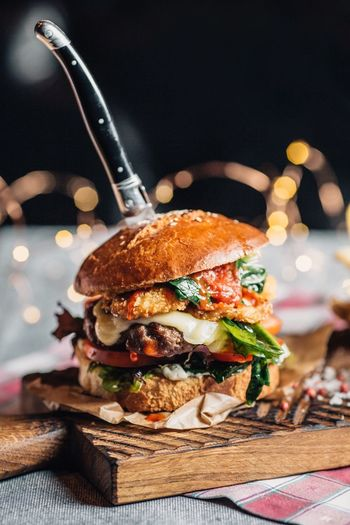 Unhealthy Eating Ready-to-eat Food Food And Drink Burger Fast Food Sandwich Meat
