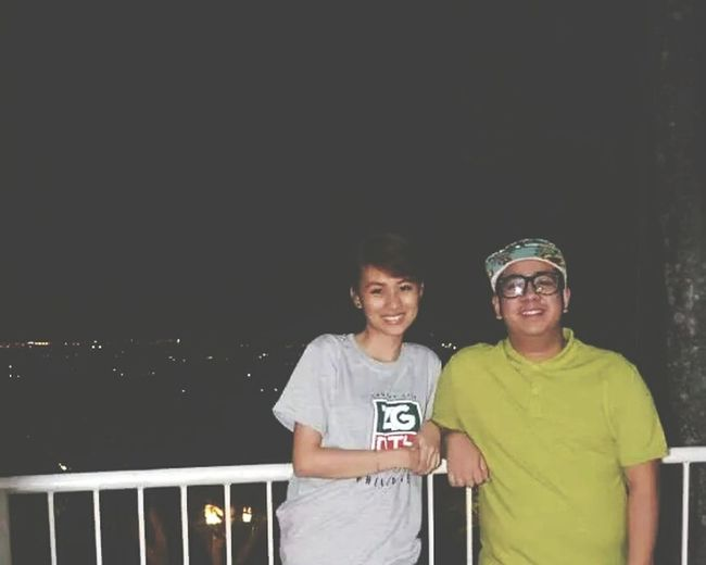 Spent my 20th birthday with him and my entire family at Catleya Resort, Antipolo.