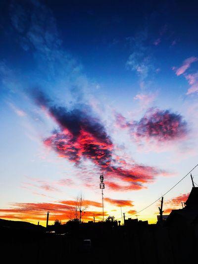 Закат над