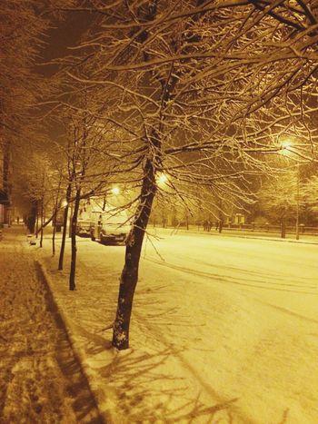 Wintertime Streetphoto Snow