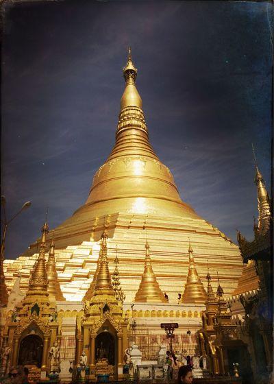 Swedegon pagode Yangon First Eyeem Photo
