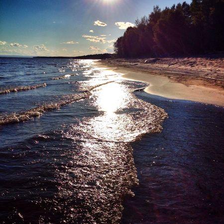 Quand le soleil se couche sur le LacStJean Resting Nice Atmosphere Life Is A Beach