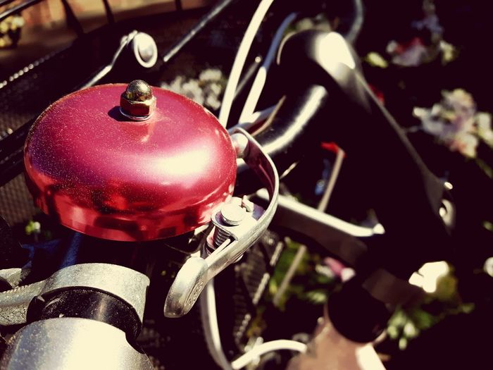 Bicycle bell Close-up Day Outdoors Dzwonek Bicycle Bell Bike Bell Bicycle Trip Bicycle Girl Girl's Bike Damka Focus On Foreground Bicycle Stand Summer Vintage Bike Vintage Bell