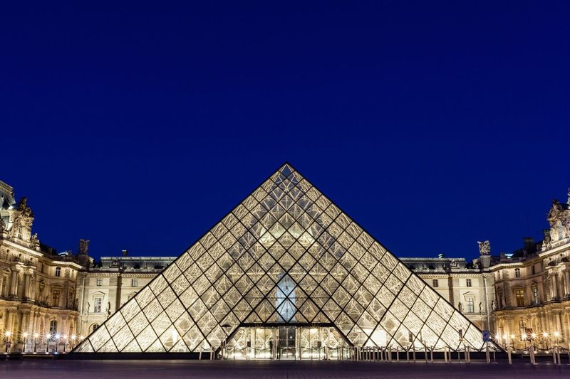 The Louvre at