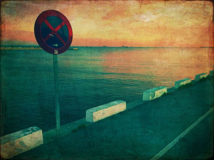 Barcelona Sea Water Horizon Over Water No People Scenics Communication Tranquil Scene Tranquility Day Outdoors Sky Beauty In Nature The Creative - 2018 EyeEm Awards
