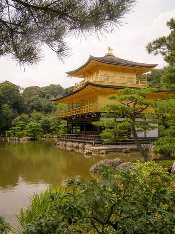 Architecture Beauty In Nature Culture Historical Building Historical Sights Japan Kinkakuji Kinkakuji Temple Kinkakuji Temple Of Japan Kyoto Temple - Building Tourism Tranquility Travel Destinations