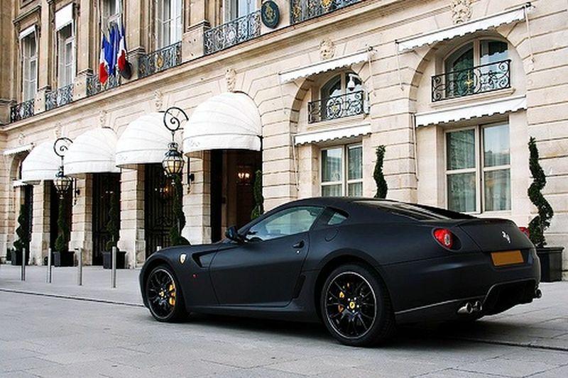 My black Ferrari Showoff