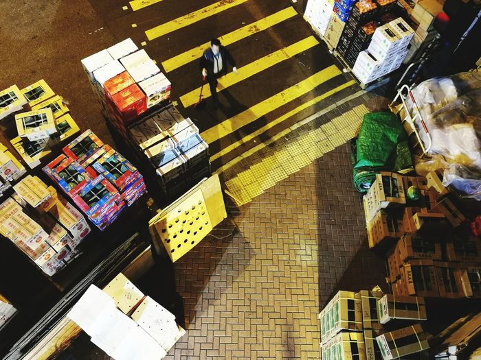 fruit market Market Fruit Market Fruits In Boxes Fruit Deliveries Multi Colored High Angle View