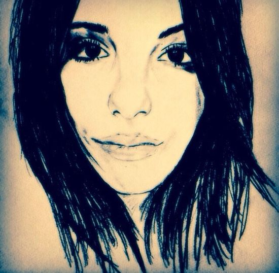 Sketch Portrait Woman Art