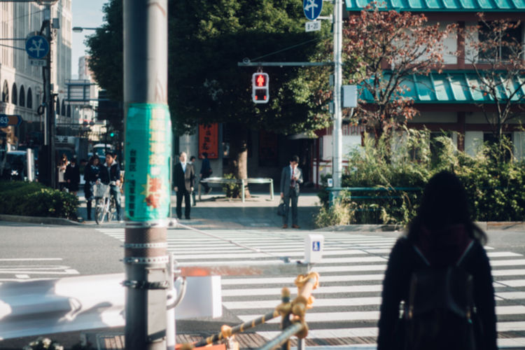 Japan Lovers Japanese Culture Retro TOKYO TOKYO Old Meets New Unknown Japan Urban Exploration Architecture Asakusa Building Exterior Built Structure Car City Day Like A Film New Vintage Nostalgia Nostalgic  One Person Outdoors People Real People Rear View Road Street Transportation Travel Destinations Tree Urban Landscape Stories From The City Adventures In The City The Street Photographer - 2018 EyeEm Awards