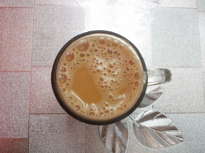 Teh Tarik Pulled Tea Breakfast Froth Art Frothy Drink Drink Table Cappuccino Coffee - Drink Coffee Cup Latte Saucer High Angle View Tea Hot Drink