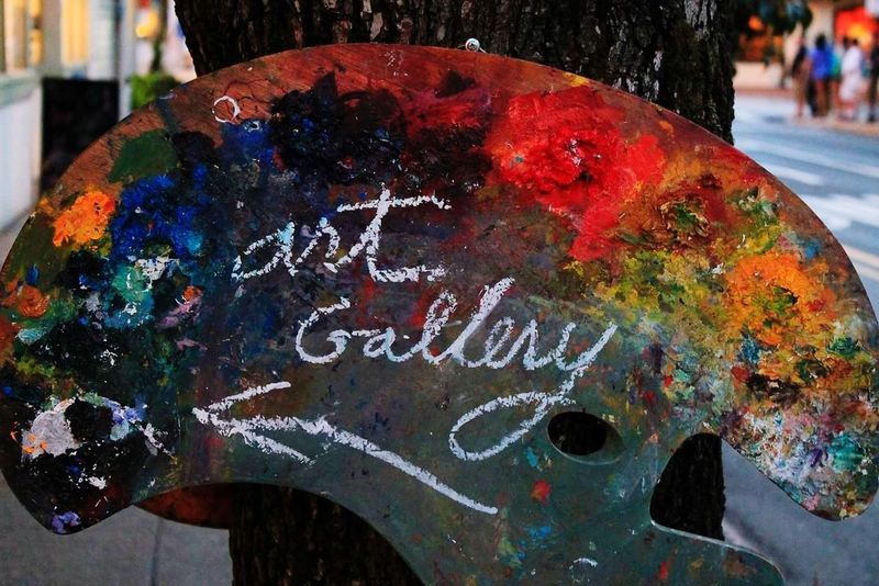 Art gallery ⬅️ Art Arts Culture And Entertainment Art Is Everywhere Colors Artgallery New Hope USA USAtrip USA Photos EyeEm Best Shots EyeEm EyeEm Selects EyeEmBestPics EOS Canon Canonphotography Canon_photos Multi Colored Close-up Paint Day Outdoors Oil Spill No People