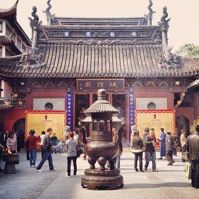 城隍廟  上海 CityGodTemple Temple ShangHai