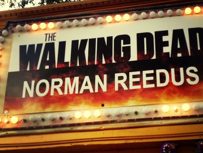 Met him this weekend :) got Ben's shoe signed! Norman Reedus