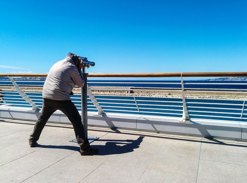 Alternative Fitness in Marseille, France Enjoying The Sun Showcase April People Watching Eye4photography  Fresh 3 Open Edit EyeEm Best Shots Landscape_Collection Sea View Learn & Shoot: Balancing Elements Streetphoto_color
