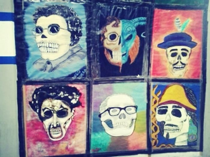 Dia de muertos *-* Arte Urbano  UNAM Cchvallejo