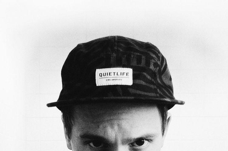 Me. Quiet Life Selfportrait Black & White