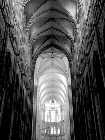 Arches Place Of Worship Architecture Light Amiens Amiens Cathedral Cathedral Des Notes Dames