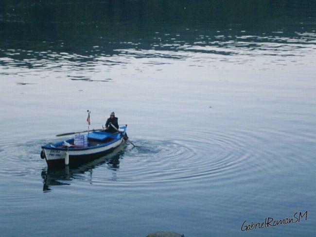 Bote Remando Agua Puerto Montt Sur De Chile Taking Photos Naturaleza Belleza Natural