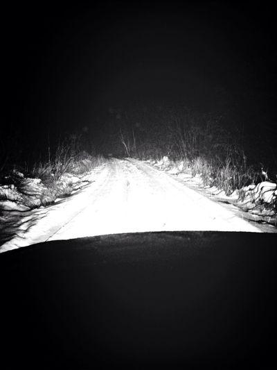 Vinterväglag på Dynanvägen Dagsattskaffatraktor