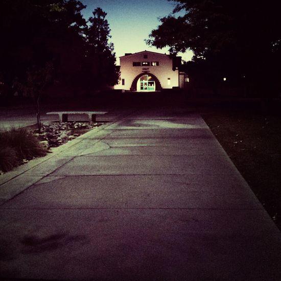 College nights. Evening Light College Nmsu Studying