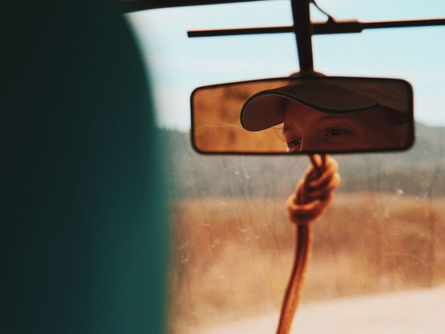 The Portraitist - 2017 EyeEm Awards Rear View Car Truck Portrait Eye Day Close-up The Week On EyeEm Live For The Story Live For The Story Place Of Heart Connected By Travel
