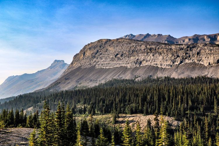 Canada Mountain Scenics - Nature Beauty In Nature Tranquil Scene Tranquility Mountain Range Landscape Nature No People Rocky Mountains Idyllic Land