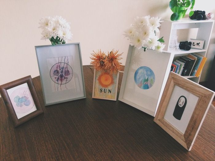my stuff ⛰✨ Indoors  Plant Decoration Frames Watercolor Drawing Ink Relieveltda Flowers Design Chile Temuco