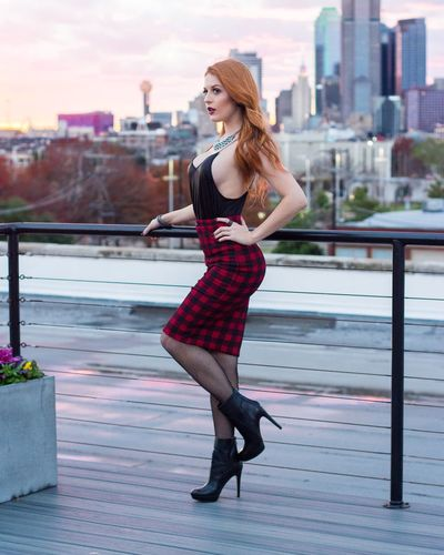 Kelsey. Model Fashion Photo Shoot Deep Ellum Dallas Texas
