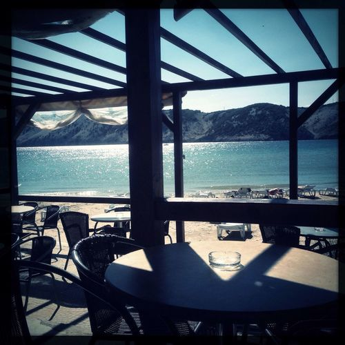 The best beach view is always the one from a cosy beach bar. Life Is A Beach On The Beach Enjoying The Sun