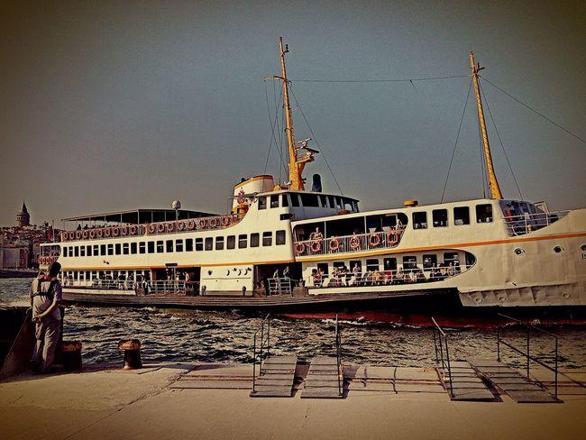 Kadıköy Eminönü Vapur Iskelesi Sehirhatlari