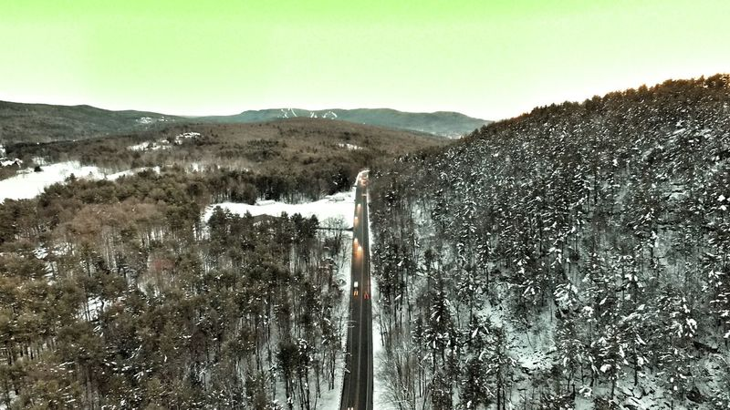 Mountain Landscape Outdoors Drone  Cold Temperature Snow ❄ Winter Wintertime USA Massachussets Dji Aerialphotography Aerial View