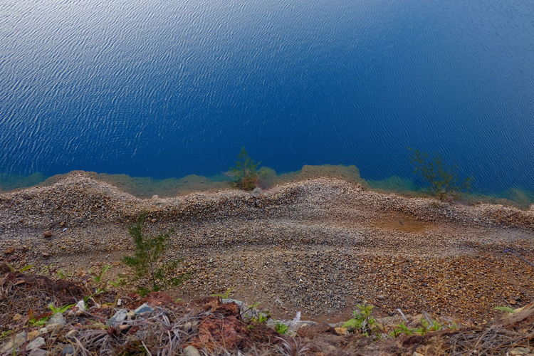 Blue Lake Nature Sea Blue Scenics Water No People Beauty In Nature Outdoors Sky Day EyeEmNewHere