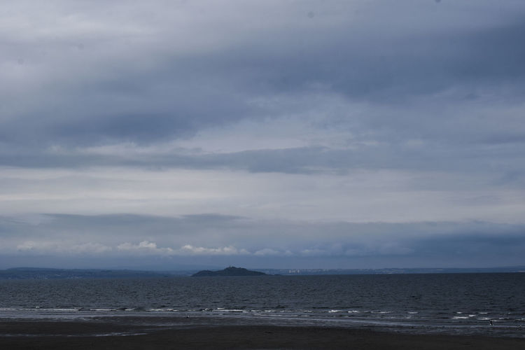 Edinburgh Scotland Beach Beauty In Nature Blue Cloud - Sky Day Environment Evening Sky Horizon Horizon Over Water Horizontal Lines Land Nature No People Non-urban Scene Outdoors Portobello Beach, Edinburgh Sandy Beach Scenics - Nature Sea Sky Tranquil Scene Tranquility Water