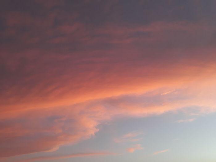 The sky is an