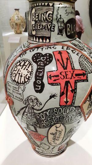 Exhibition Art Grayson Perry Interesting Pieces FreeTime Beyoglupera Fantastic Exhibition