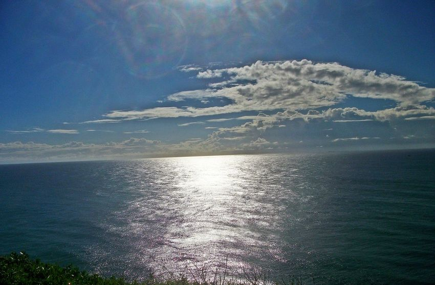 Beauty In Nature Blue Day Horizon Over Water Idyllic Nature No People Outdoors Scenics Sea Sky Sunlight Tranquil Scene Tranquility Water
