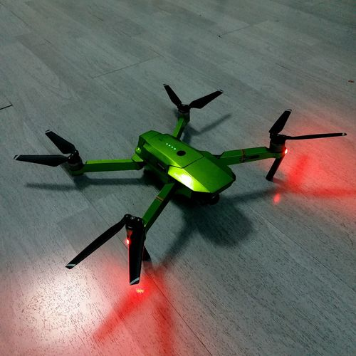 my new partner in crime Drone  Mavic Pro Decal Green Dji Awesome
