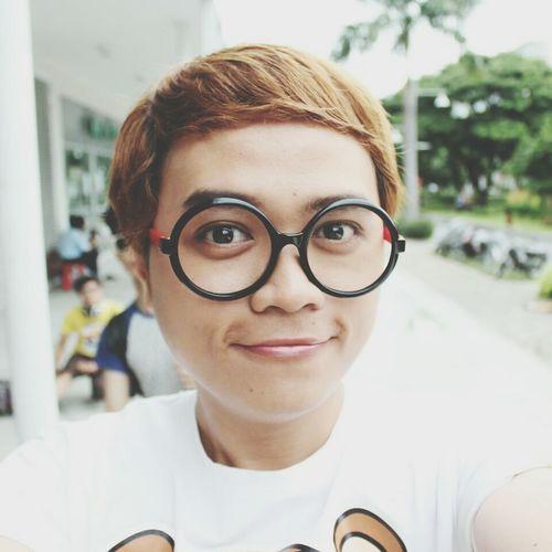 i'm Nobita Nobita Circle Glasses Selfie That's Me