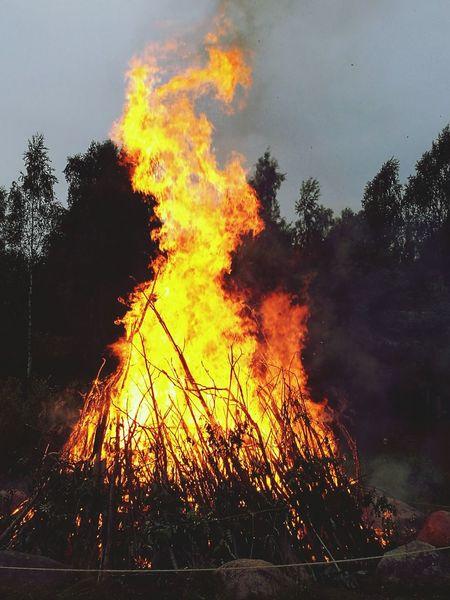 Bonfire Bonfire Night Midsummer In Finland Midsummer Festival