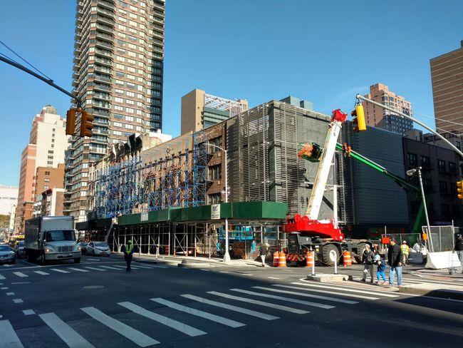 City Street Crossing City Life Angles